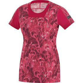 GORE RUNNING WEAR AIR PRINT Camiseta Running Mujer, jazzy pink